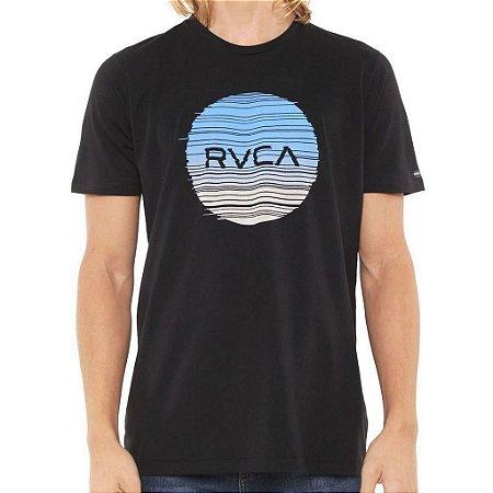 Camiseta RVCA Glitch Motors Masculino