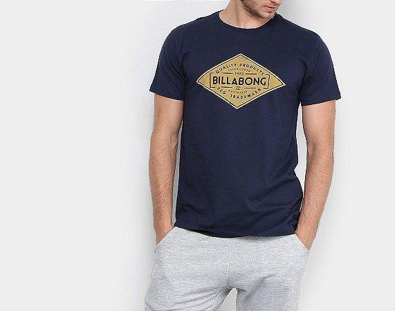 Camiseta Billabong Supply Azul Masculino