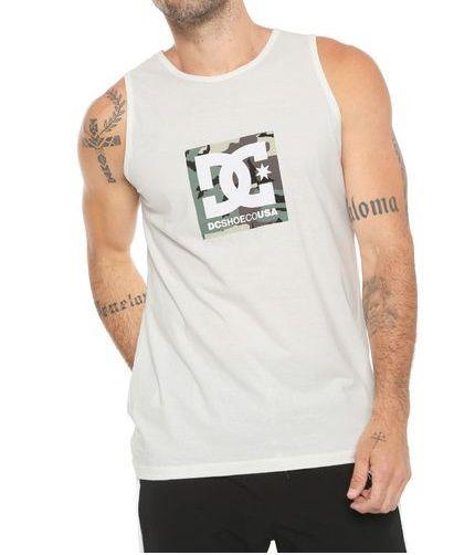 Camiseta Dc Shoes Regata Camuflada Boxing  Masculino