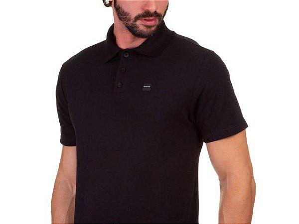 Camisa Polo Oakley Patch 2.0 Preto Masculino
