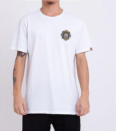 Camiseta Element Abyss Branco Masculino