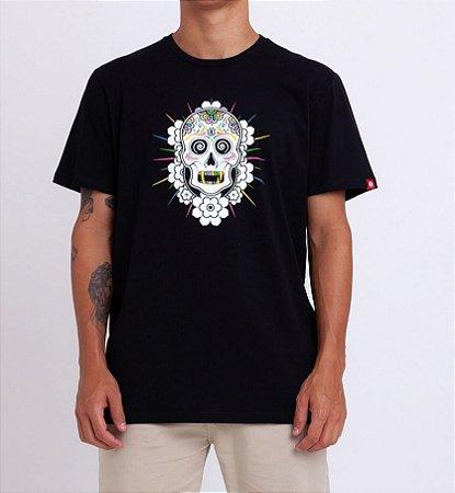 Camiseta Element Cataclysm Preto Masculino