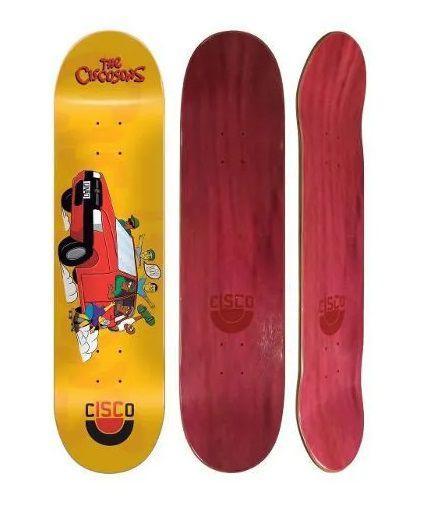 "Shape Cisco Skate Maple Ciscosons 8.125"""