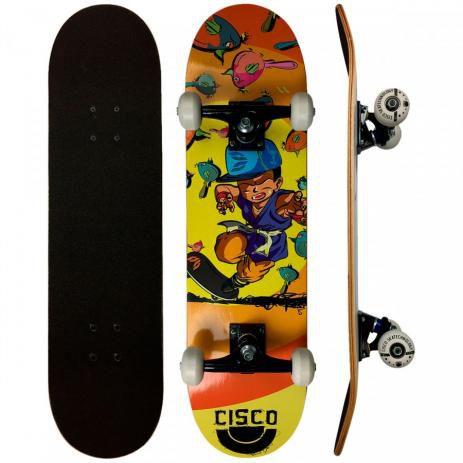 """Skate Cisco Montado Infantil Hunter 7,28"""""""
