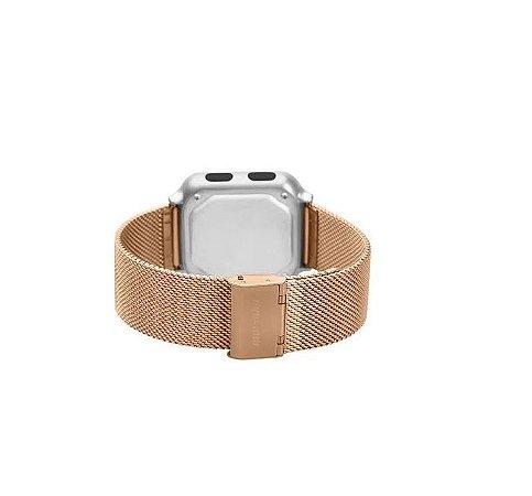 Relógio Digital Dourado Mormaii