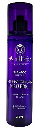 Shampoo Hidratante  Minhas Tranças Meu Brio - Fragrância Cítrica