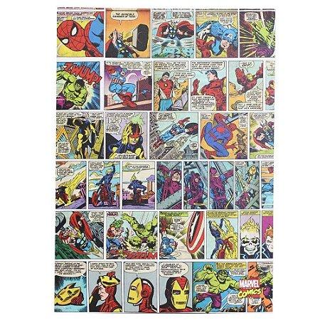 Quadro Canvas 50x70cm HQ Comics Color