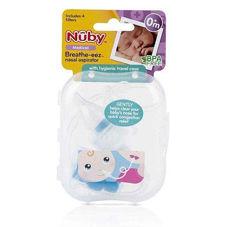 Aspirador Nasal Com Filtro e Estojo Higiênico - Nuby