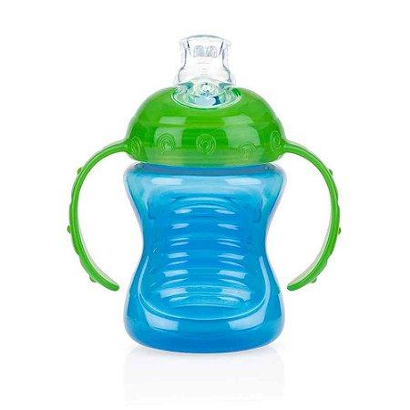 Copinho Azul e Verde com Bico e Alça 240 ml - Nuby