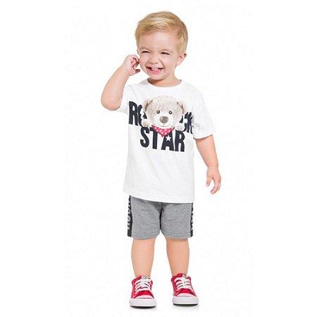 Conjunto Infantil Masculino Rockstar  - Kyly