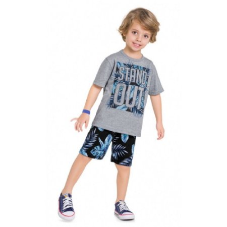 Conjunto Infantil Masculino Stand Out - Kyly