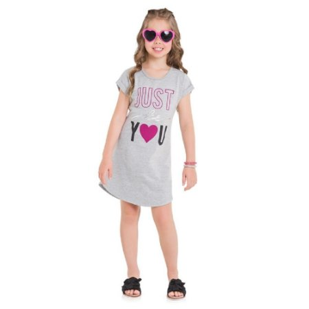 Vestido Infantil Feminino Just be you - Kyly