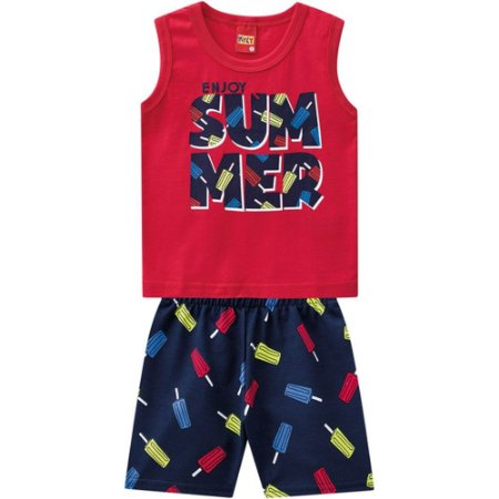 Conjunto Infantil Masculino Summer - Kyly