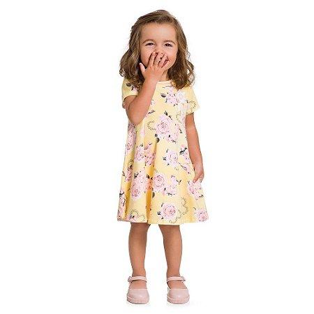 Vestido Infantil Milon Cotton - Bebê Menina