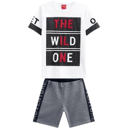 Conjunto Infantil Masculino The Wild One - Kyly