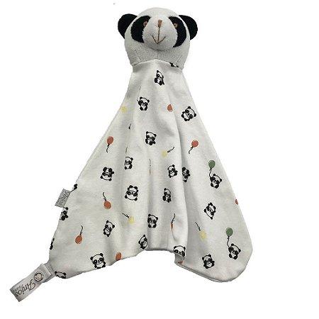 Naninha Carinha de Panda (Branco e Preto)