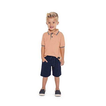 Conjunto Menino Camisa Polo e Bermuda - Playground
