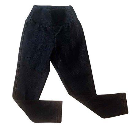 Calça Jeans Legging Feminina Infantil/Bebê