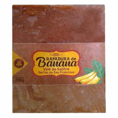 Rapadura de Banana 250g - DOCES MARINA (VALIDADE: 01-09-2021)