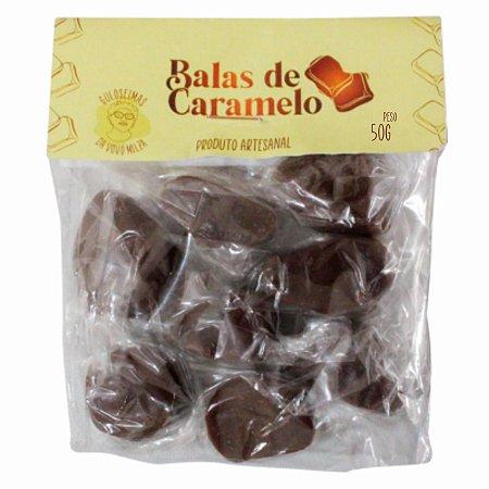 Balas de Caramelo 50g - GULOSEIMAS DA VOVÓ MILZA (VALIDADE: 03-08-2021)