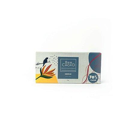 Chocolate 70% Conexão 55g - BEM CACAO