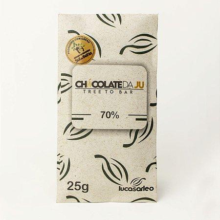 Chocolate da Ju 70% 85g - CHOCOLATE DA JU