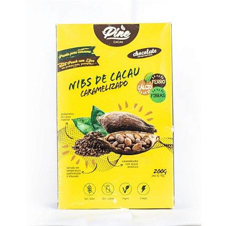 Nibs de Cacau Caramelizado 200g - PINE CACAU
