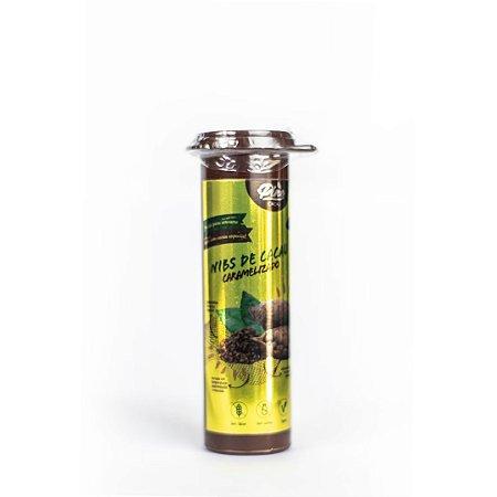 Nibs de Cacau Caramelizado em Tubete 40g - PINE CACAU