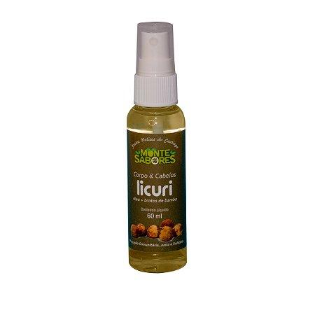 Óleo de Licuri para Corpo/Cabelo com Brotos de Bambu 60 ml
