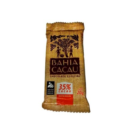 Barra de Chocolate Bahia Cacau 35% 20 g