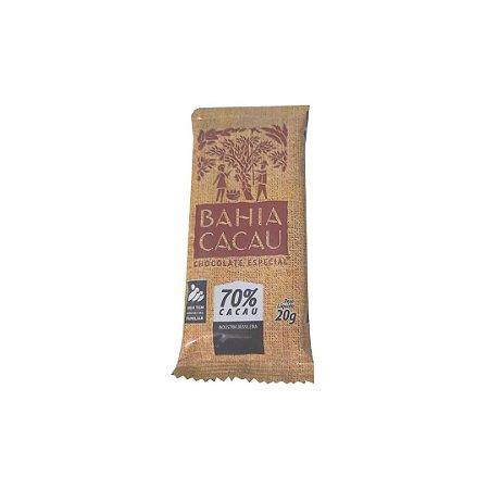 Barra de Chocolate Especial 70% 20 g