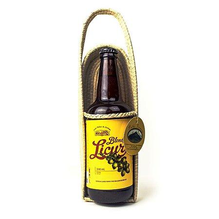 Porta Cerveja Artesanal em Palha de Licuri - COOPERSABOR
