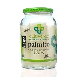 Palmito de Pupunha em Conserva 500 g