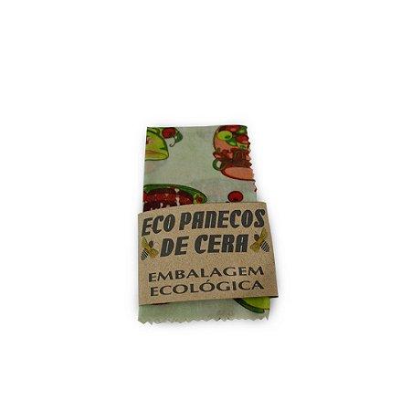 Embalagem Ecológica Estampa Doces 27x29 cm