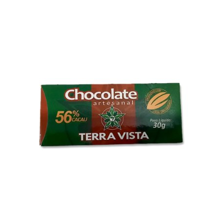 Chocolate Artesanal Terra Vista 56% 30g