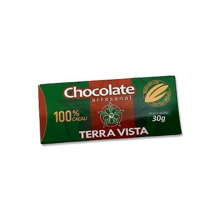 Chocolate Artesanal Terra Vista 100% 30 g