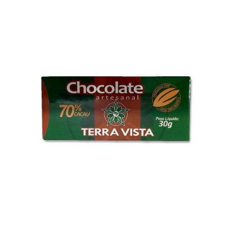 Chocolate Artesanal Terra Vista 70% 30 g