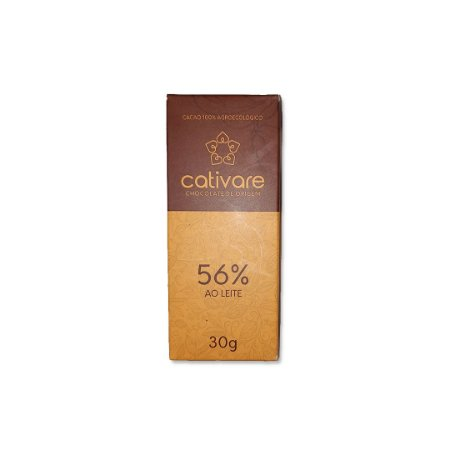 Barra de Chocolate Especial Cativare 56% 30 g