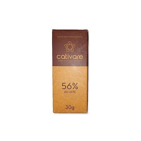 Barra de Chocolate Especial Cultivare 56% 30 g