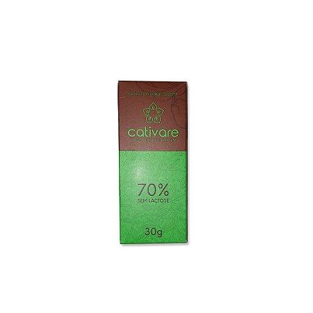 Barra de Chocolate Especial Cativare 70% 30 g