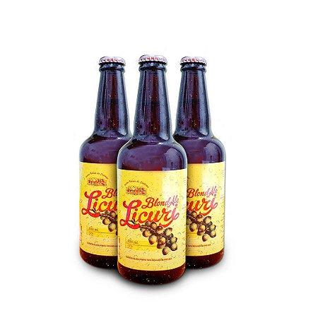 Cerveja de Licuri Blond Ale 500 ml - 3 unid