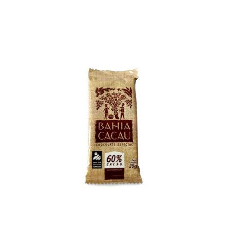 Barra de Chocolate Bahia Cacau 60% 20 g