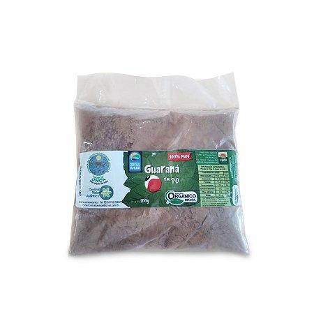Guaraná Orgânico em Pó Natural 100% Cafeína Natural Saco