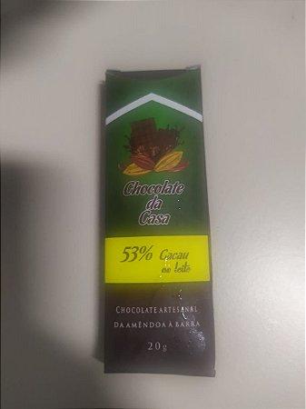 Chocolate Artesanal Chocolate da Casa 53%