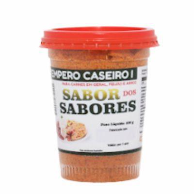 Tempero para Carne 300g - SABOR DOS SABORES