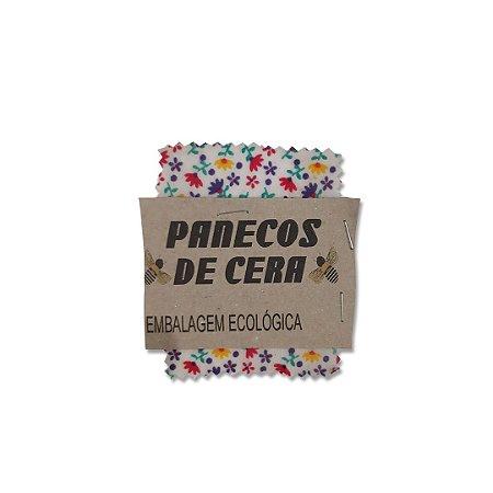 Embalagem Ecológica Estampa Florzinha