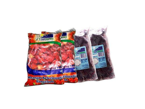Kit Frutas Vermelhas