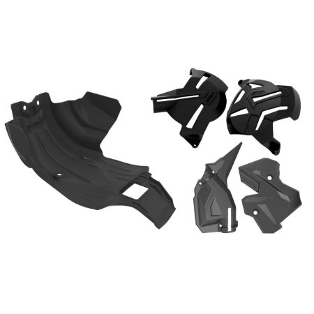 Kit Protetor Crf 250f Motor Quadro Tampas Laterais Anker