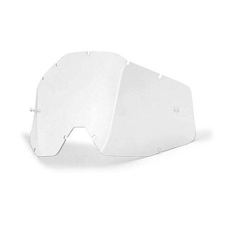 Lente Original Do Oculos 100% Strata Accuri Trilha Transparente