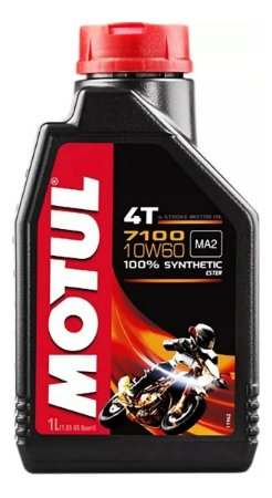 OLEO MOTOR MOTUL INDIAN 4T 10W60 SINTETICO OFF ROAD